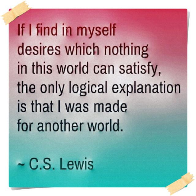 CS Lewis - Another World